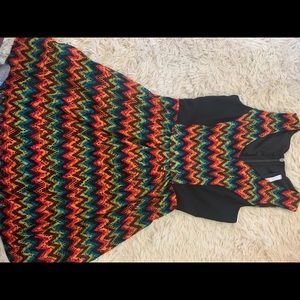 Kensie multicolored Petite Dress